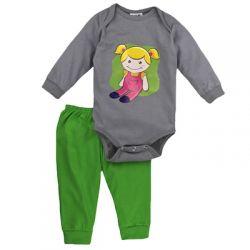 Pijama de bebê menina -  Boneca