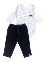 Pijama Bebê (Feminino) - Body e calça