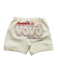 Shorts  de Bebê - Bonequinha da Vovó