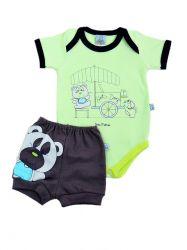 Conjunto de Bebê Urso Verde - 20510