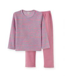 Pijama  Infantil de Soft - Corações