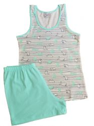 Pijama Feminino Gatos - Rosemari 20678