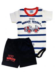 Conjunto de Body e shorts Bebê - Grand Prix
