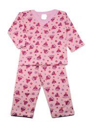 Pijama  Flanelado  de Bebê Menina