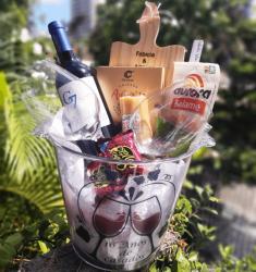 Balde Sensação- vinho e petiscos