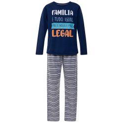 Pijama Infantil Família Legal