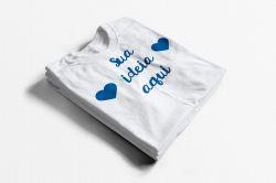 Camiseta Personalizada com sua ideia!
