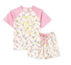 Pijama Infantil Feminino - Brilha no Escuro