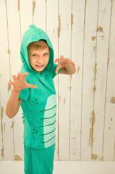 Pijama Infantil Masculino - Fantasia Dino