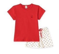 Pijama Infantil Feminino - Náutico